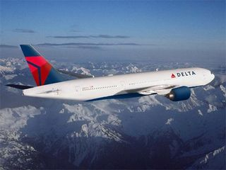 Delta Airlines Boeing 777. Image courtesy Delta Airlines.
