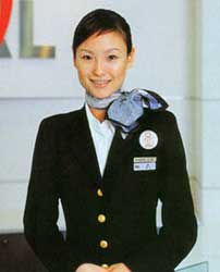 Japan-airlines-stewardess
