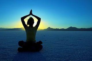 Airport-yoga